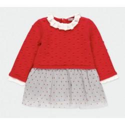 Vestido Boboli tricotosa combinado