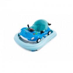 Andador KIKKA BOO ABC coche azul