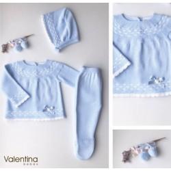 Conjunto 3 piezas Valentina punto Luxury