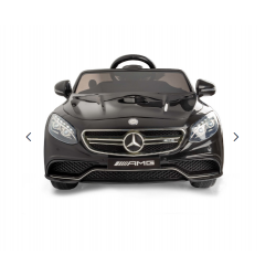 Coche Qplay Mercedes S63 Negro radio control