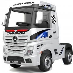 Camión Eléctrico Qplay Mercedes Actros Blanco