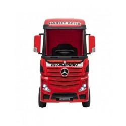 Camión Eléctrico Mercedes Actros Rojo