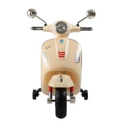 Moto eléctrica Qplay Vespa Blanca