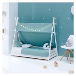 PACK Cabaña Alondra Montessori HOMY XL 80x200 con textil y cojines