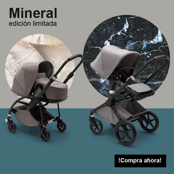 Colección Bugaboo Mineral. Minimalista, pura, perfecta y naturalmente simple