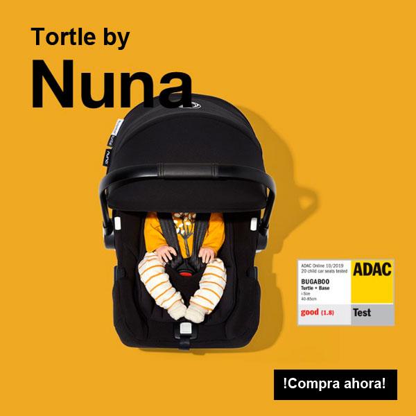 Turtle by Nuna Sencillamente segura, siempre. Desde el primer día.
