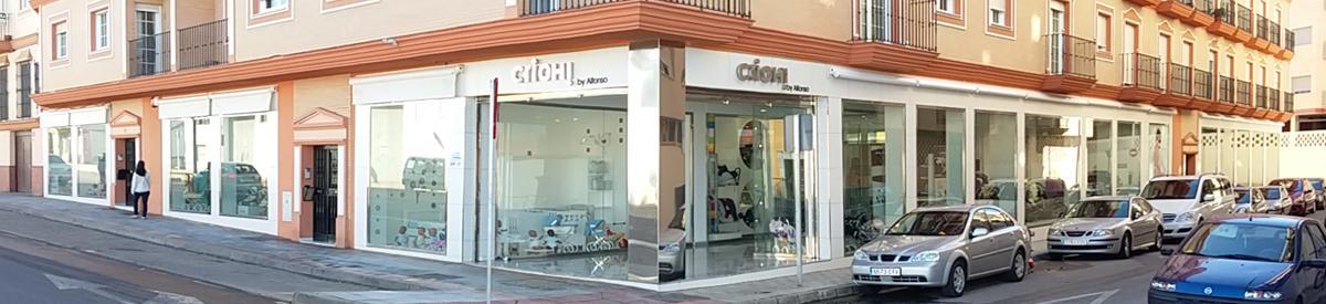 fachada tiendas Crioh de Almendralejo